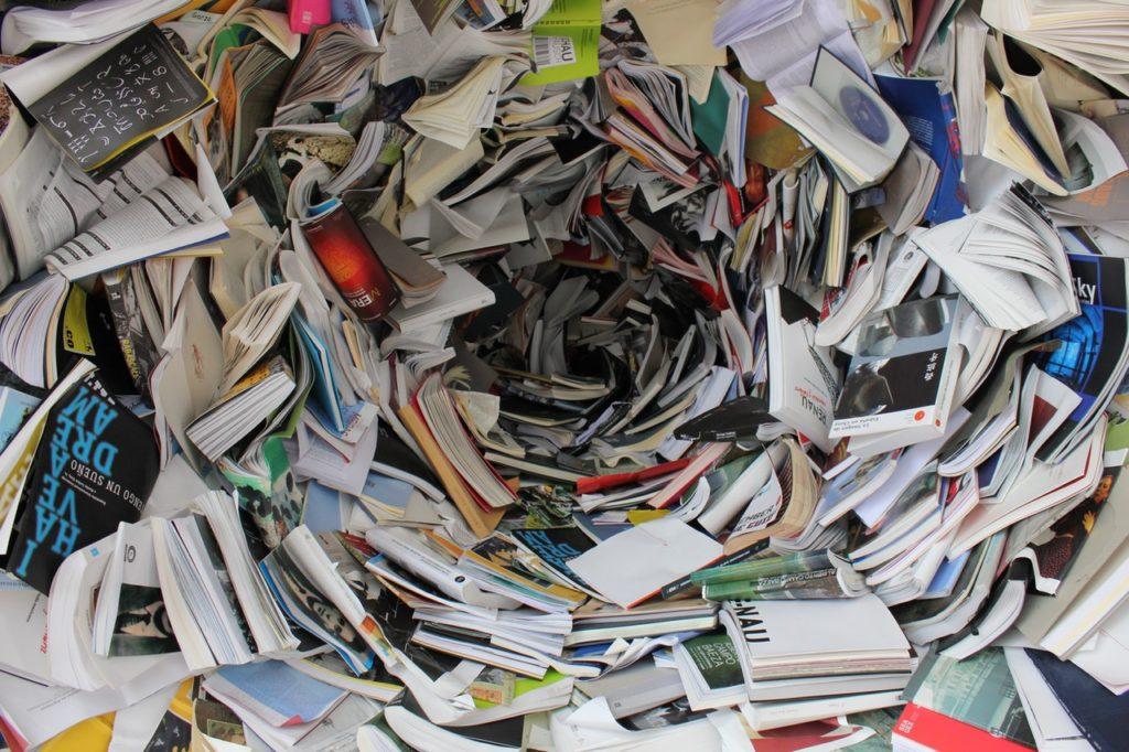 recyclage journaux