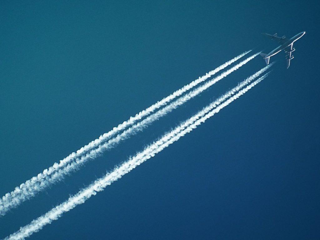 transport nourriture avion
