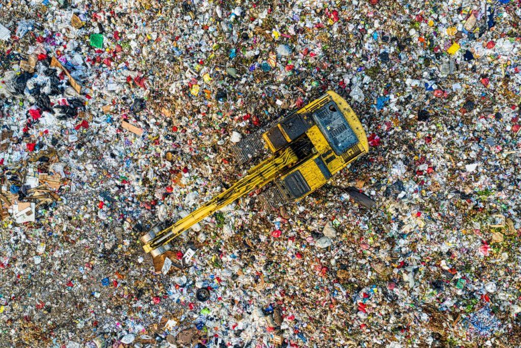 ocean de plastiques